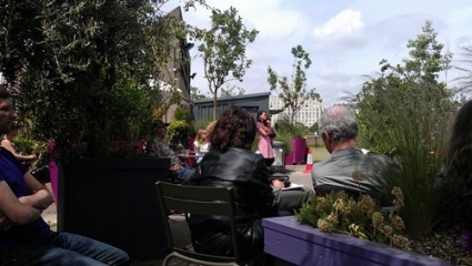 Roof Garden Audience