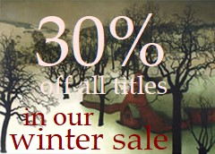 Winter Sale - 30% off all books!